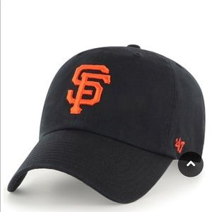 San Francisco Giants '47 Clean Up Dad Hat, Black